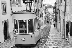 Lisbon (Laszlo Horvath.) Tags: lisbon lisboa lisszabon portugalia monochrome blackandwhite bw city tram nikond7100 sigma1835mmf18art black white