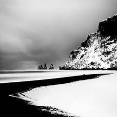 Winter Sea (sleachim) Tags: iceland winter sea