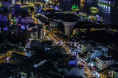 ho chi mihn city (Greg M Rohan) Tags: nikon d7200 nikkor city nightphotography skyline architecture night cityscape nightlights nighttime saigon hochiminhcity traillights asia vietnam 2017