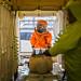 Infermera i tècnic d'emergències sanitàries del SEM fan un simulacre de persona atesa per exposició al virus de l'Ebola