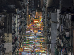 The Night Market (Andrew G Robertson) Tags: temple street night market neon hong kong kowloon architecture