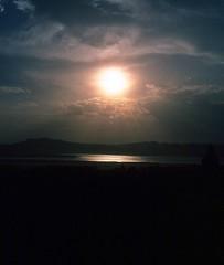 Sonnenuntergang in Bagan am Irrawady (walter 7.8.1956) Tags: 1981 fluss wolen sonne asien myanmar bagan burma irrawady