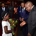 President Cyril Ramaphosa arrives at Togo's International Airport
