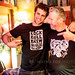 Adam Silvestri (Radiator King) and Mark Shepherd (Rock And Roll Brewhouse Bar)