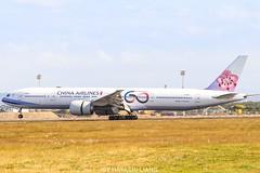 China Airlines B777-309ER B-18006 (1008twice) Tags: chinaairlines 華航 中華航空 b777 b77w b777300er b18006 tpe rctp skyteam
