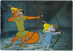 Robin Hood (1973) (Truus, Bob & Jan too!) Tags: robinhood robin hood 1973 waltdisney disney walt vintage animation film cinema kino cine picture screen movie movies postcard postkarte carte postale cartolina tarjet postal postkaart briefkarte briefkaart ansichtskarte ansichtkaart corna