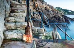 Steps (maryhahn265) Tags: steps rocks texture coast railings