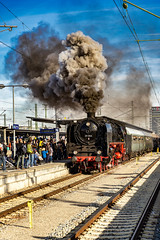 Starting the Trip (*Capture the Moment*) Tags: 2019 dampflok december dezember fotowalk munich münchen nikolauszug sonya7m2 sonya7mii sonya7mark2 sonya7ii sonyilce7m2 steamengine steamtrain train