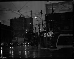Parkdale morning (Uta_kv) Tags: mediumformat d76 filmcamera 6x45 tmax100 carlzeiss homedeveloped film kodak expiredkodak