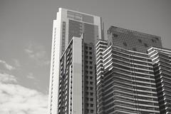 B&W-Building (rayking8) Tags: building blackandwhite taiwan fujifilm sky street travel traveler xt1 xf35mmf14