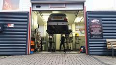 Big maintenance day! (Skylark92) Tags: nederland netherlands holland noordholland northholland amsterdam auto service osdorp citroën saxo 11i asics 40gnnp 2001 onk