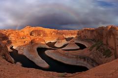 Reflection Canyon Rainbow (Jaykhuang) Tags: reflectioncanyon rainbow glencanyon lakepowell southwest waterlevel lowwaterlevel jayhuangphotography favoriteshot2019