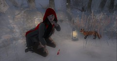 Little girl lost (~*Valerian*~) Tags: secondlife maitreya laq ivy exile jian bom winter christmas virtual digital hanaka