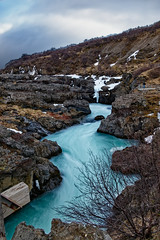 Barnafoss (la chute des enfants), Islande (mérou60) Tags: iceland lumix panasonic fz1000