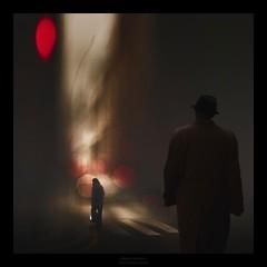 Urban shadows 2 (Mariano Belmar Torrecilla) Tags: españamurcia artwork fineart 11 collage