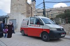 Krankentransporter in Hebron (ippnw Deutschland) Tags: israel palästina palestine bethlehem palestinian palästinenser frieden nahost begegnung reise ärzte hebron westbank westjordanland
