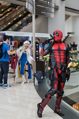 Deadpool (Robycrux) Tags: model portrait 50mm sony comics passion dresses fancy western japan games video television series manga comic books cartoons anime details accessories fashion portmanteau play costume planet happy asia convention mbs colours colors heroes marvel cosplay comicon singapore beautyful people face eyes expression looking camera hair mask cloth conceptual diversity lifestyle impact oriental asian person female girl portraiture detail street closeup faceshot full view posing clarity