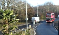 Rail Replacement Bus, Sussex. (ManOfYorkshire) Tags: rail replacement bus london general plaxton president lewes sussex foliage palmtree planned engineering work southern trains railway