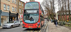 A line 432 bus - operated by Go Ahead London Central - reaches bus stop Westow Street going to Brixton (claudio.bickel98) Tags: transportforlondon publictransport bus linie432 westowstreet london england greatbritain goahead goaheadgroup volvo doppeldeckerbus
