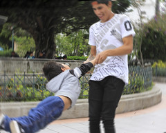 Fun Swirl (klauslang99) Tags: klauslang streetphotography fun children cuenca ecuador swirl