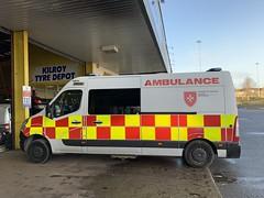 Order of Malta - Renault Ambulance - Athlone, Ireland. (firehouse.ie) Tags: ireland ambulance renault ambulances ambulancia ambulanz renaults orderofmalta ambilansa master renaultmaster