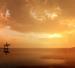 ''Close of Day'' (HodgeDogs) Tags: horse people skybox sky clouds reflections sunset reddeadredemption2 rockstargames fransbouma larahjohnson photography explore