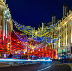 Christmas illuminations - Regent Street, London, UK (davidgutierrez.co.uk) Tags: london photography davidgutierrezphotography city art architecture nikond810 nikon urban travel color night blue photographer tokyo paris bilbao hongkong christmas uk skyscraper neon londonphotographer building street colors colours colour europe beautiful cityscape davidgutierrez structure d810 contemporary arts architectural design buildings centrallondon england unitedkingdom 伦敦 londyn ロンドン 런던 лондон londres londra capital britain greatbritain tamronsp2470mmf28divcusdg2 2470mm tamron tamronsp2470mmf28divcusd tamron2470mm vibrant edgy vivid 倫敦 xmas christmaslights regentstreet westminster westend christmasilluminations illuminations lighttrails streaminglights