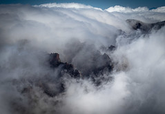 Clouds over Caldera (Andy & Helen :-) :)) Tags: lapalma calderadetaburiente clouds caldera