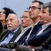 v.l.n.r. Safiye Can, Aras Ören, F.C. Delius, Cem Özdemir, Peter Siller