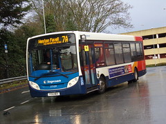 Stagecoach ADL Enviro 200 37109 YY14 WEX (Alex S. Transport Photography) Tags: bus outdoor road vehicle stagecoach stagecoachmidlandred stagecoachmidlands adlenviro200 enviro200 e200 adldartslf4 route7a 37109 yy14wex