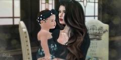 Baby Aria 👶 (Spikie Chickie) Tags: secondlifephotography secondlife sl catwa doux maitreya zooby animesh baby slfamily animeshbaby trompe avenge