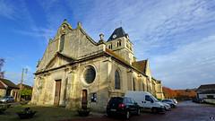 PAYSAGES DE PICARDIE 534 (Alain Père Fouras) Tags: picardie église monument gothique roman architecture clocher