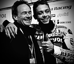 Barry and Vale (teamheronsuzuki) Tags: barry vale sheene rossi valentino
