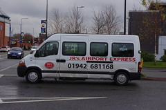 IMGP4833 (Steve Guess) Tags: leigh lancs lancashire greater manchester england gb uk bus jrs taxi ford transit airport express