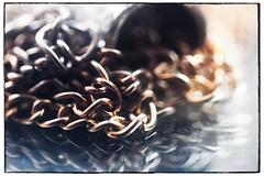 Chains (Alex . Wendes) Tags: chain macromondays macro jewellery tamron90mm tamron90mmmacro raynox250 ftz z6 nikonz6 mirror reflection exposurex5
