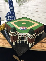IMG_7993 (backhomebakerytx) Tags: texas back home bakery backhomebakery texasbakery cake rangers stadium globe life park groomscake