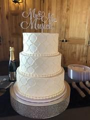IMG_6571 (backhomebakerytx) Tags: texas back home bakery backhomebakery texasbakery cake wedding bride brides bridalcake three tier texture