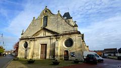 PAYSAGES DE PICARDIE 533 (Alain Père Fouras) Tags: picardie église paroisse batiment monument roman gothique saintlouis architecture clocher
