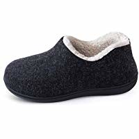 ULTRAIDEAS Women's Cozy Memory Foam Closed Back Slippers with Warm Fleece Lining, Wool-Like Blend Cotton House Shoes with Anti-Slip Indoor Outdoor Rubber Sole (bestdealsforeverybody) Tags: ultraideas womens cozy memory foam closed back slippers with warm fleece lining woollike blend cotton house shoes antislip indoor outdoor rubber sole