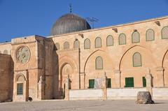 Al-Aqsa-Moschee. Tempelberg Jerusalem (ippnw Deutschland) Tags: israel palästina palestine bethlehem palestinian palästinenser frieden nahost begegnung reise ärzte jerusalem tempelberg alaqsa mosque haramalsharif templemount