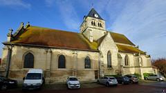 PAYSAGES DE PICARDIE 535 (Alain Père Fouras) Tags: église gothique architecture picardie roman clocher