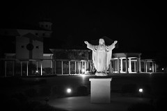 Sacred Heart Catholic Church, New Iberia, LA (oneselfsacrifice) Tags: louisiana newiberia bayouteche bayou church community catholic roman statue jesus christ christianity