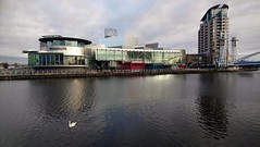 Photo of The Manchester Ship Canal at Media City UK Salford