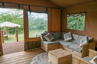 Safari Luxury Glamping Tent | Africa Safari Lake Manyara
