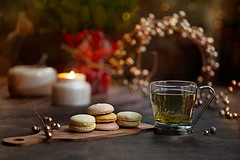 Winter days... (Chapter2 Studio) Tags: stilllife sonya7ii soft solitude chapter2studio calm cup cookies macaroons moody mood red lifestyle holiday happiness winter
