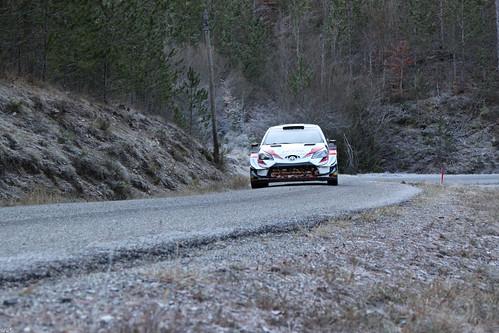 Toyota Yaris WRC tests for Rallye Monte-Carlo 2020