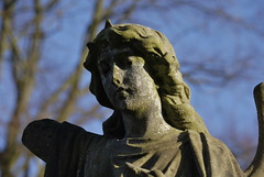 soiled dove (zazaginz) Tags: december cradleyheath graveyard broken maimed soileddove angel