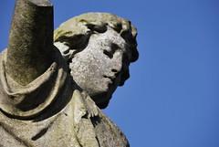 soiled dove 2 (zazaginz) Tags: nikon nopeople colddecember graveyard statue brokenangel soileddove