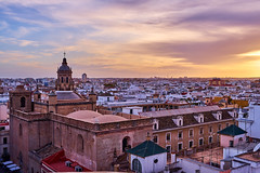 Sunset in Seville (AgarwalArun) Tags: sony a7m2 sonyilce7m2 landscape scenic nature views spain seville sevilla europe sunset