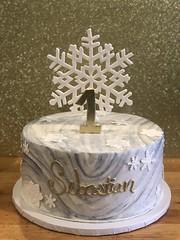 IMG_8085 (backhomebakerytx) Tags: texas back home bakery backhomebakery texasbakery cake winter marbled snowflake